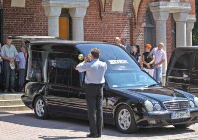 Fotograf na pogrzebie